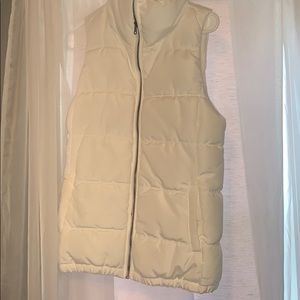 Old navy vest great for spring and fall!